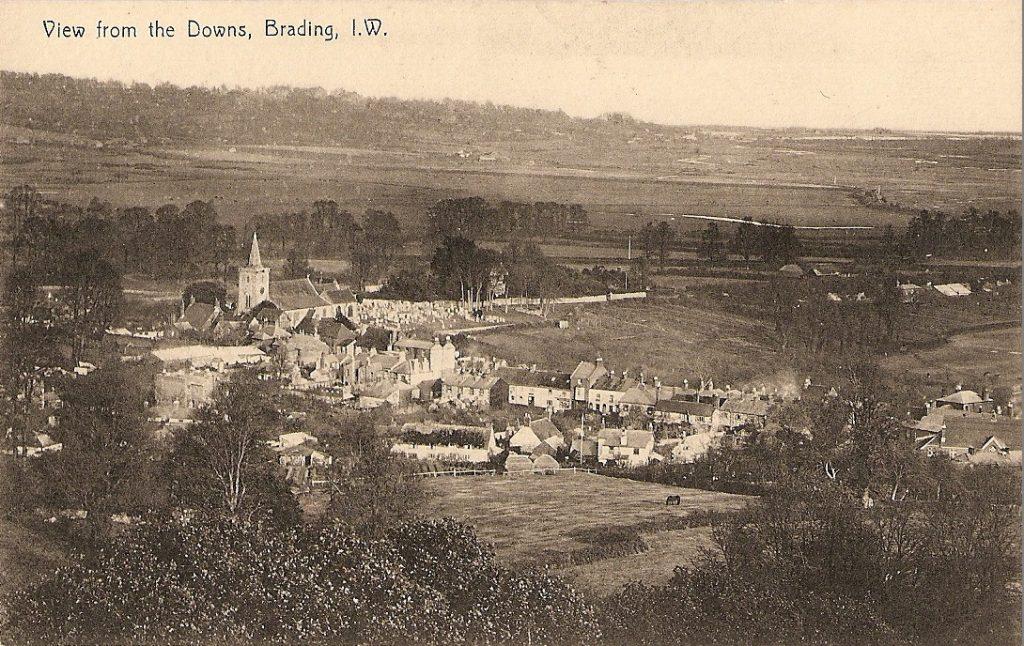 view across Brading pre 1910