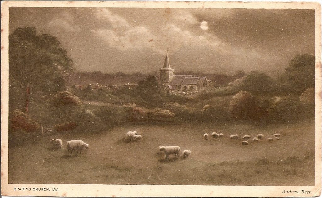 painting of St Mary's