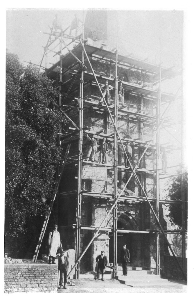 repairs to St Mary's 1906