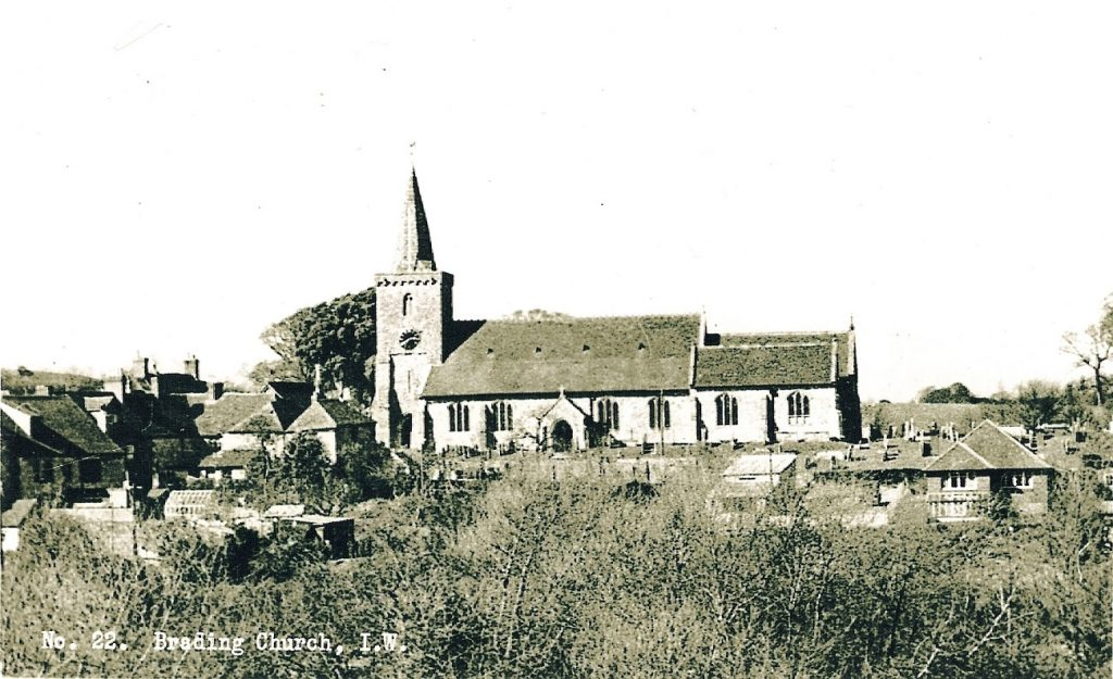 Early view St Mary's