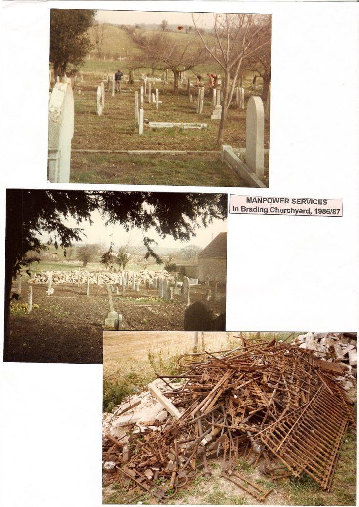 St Mary's churchyard 1986