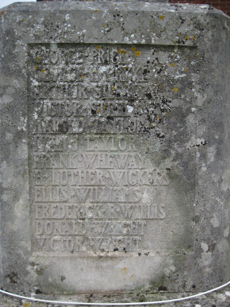 memorial east face