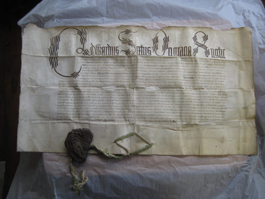 Town Charter of 1547