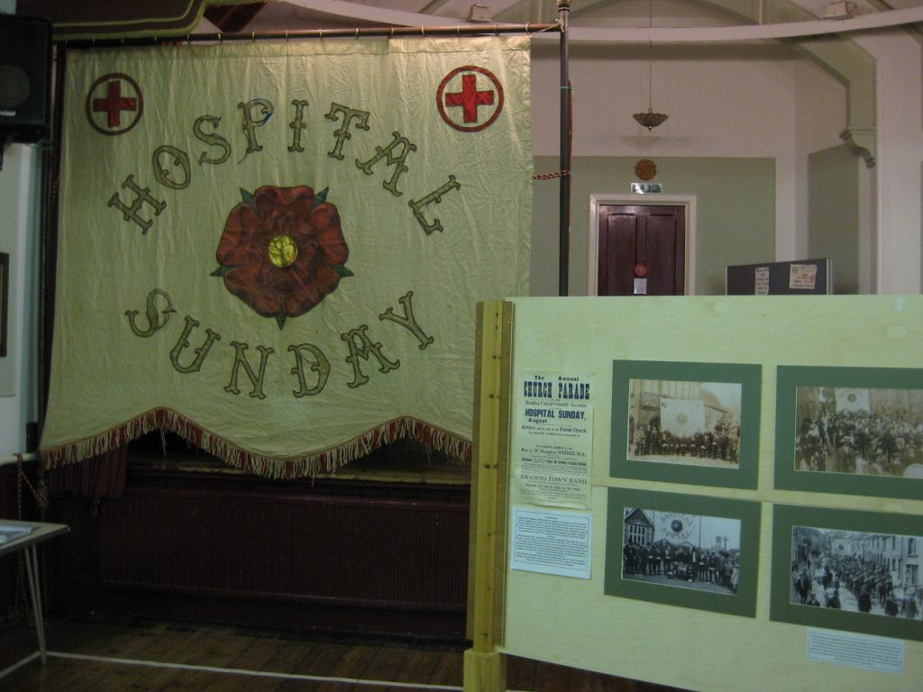 hospital sunday banner