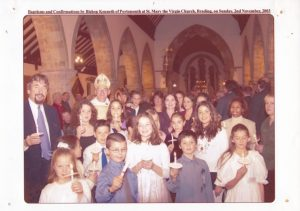Baptisms and confirmations at St Mary's