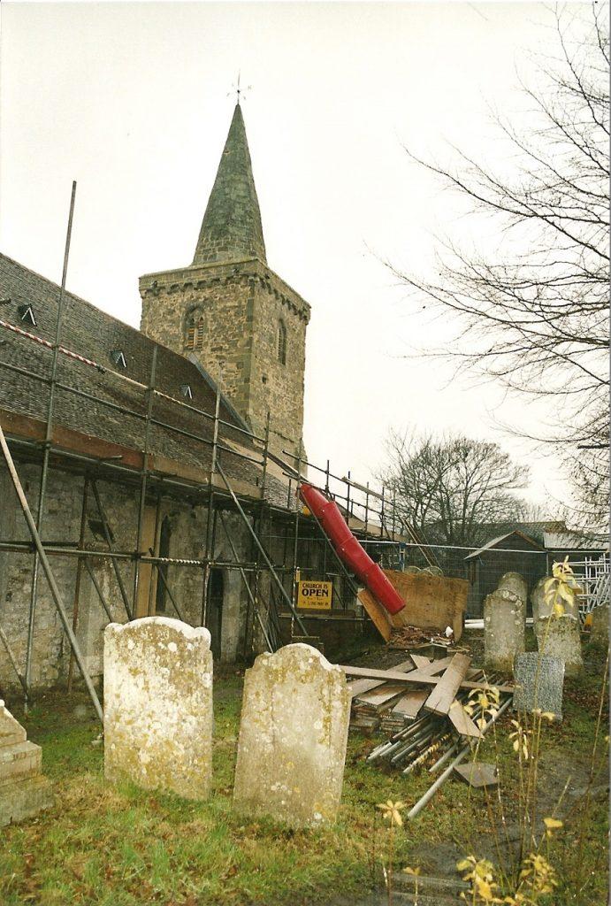 MP1065 St Mary's restoration