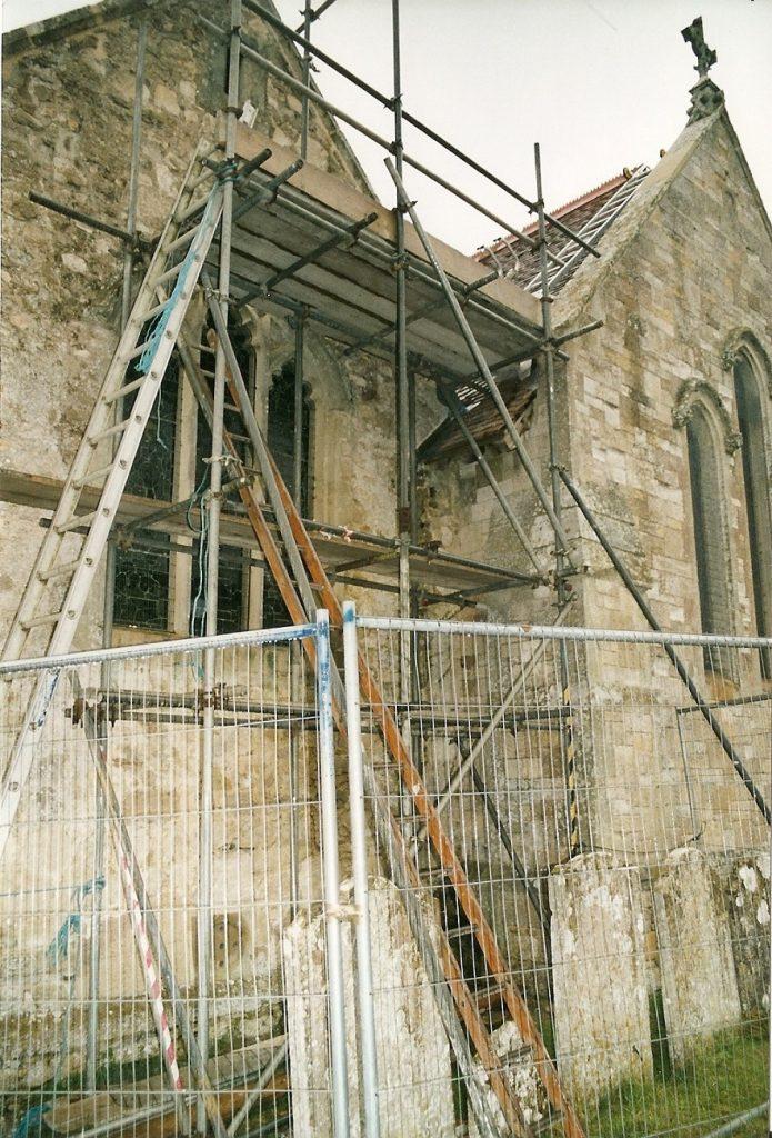 MP1066 St Mary's restoration