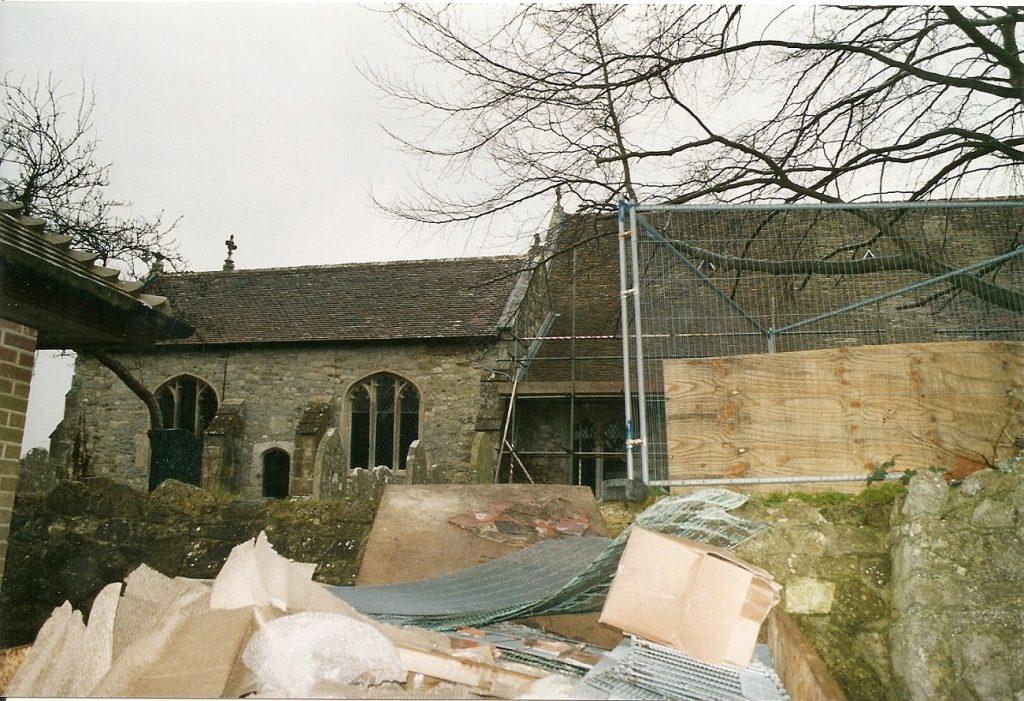 MP1068 St Mary's restoration