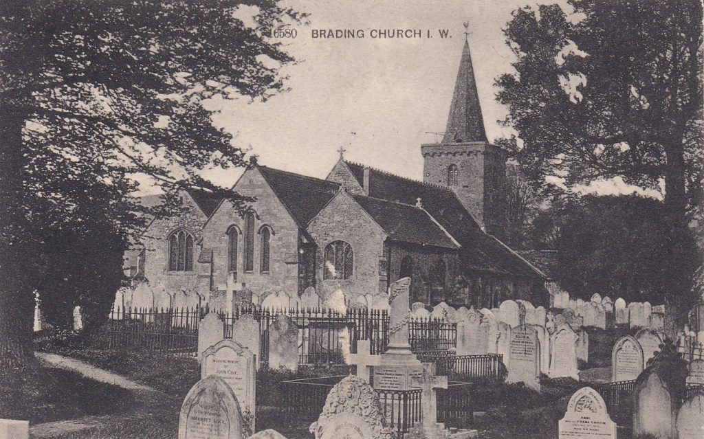 Old postcard St Mary's MP 1134