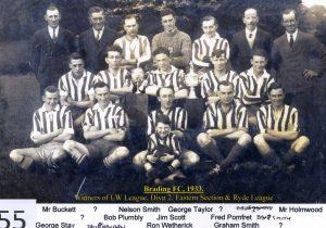 Brading Town Football Club – 1933