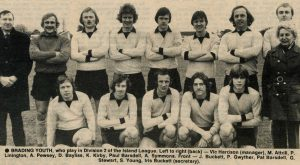 Brading Youth Football Club – 1977