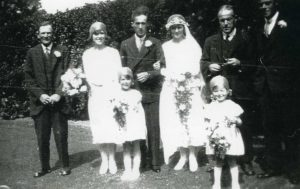 Wedding of George Leonard READ and Lilian Louise FOWLER in 1930