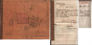 Deed to assign property behind malt house 1880
