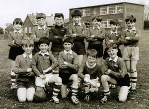 Brading school football team about 1965