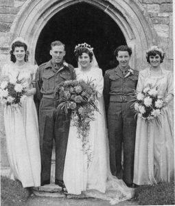 Wedding of Albert George DEACON and Patricia WARREN 1950
