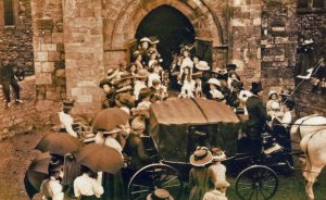 Wedding of Frederick ATKINS and Emily Kate WHEWAY 1910