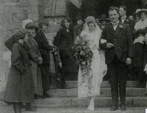 Wedding of Frederick George FOWLER and Doris Emily FIRTH 1923