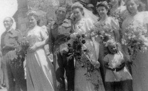 Marriage of Leonard Kitchener BALLARD and Kathleen Dorothy HARBOUR 1944