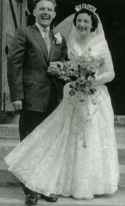 Wedding of Michael LING and Rosemary Ellen TROTT 10 May 1958