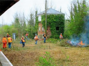 Clearing the signal box 2007