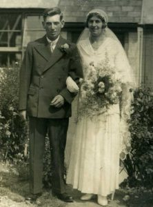 Marriage of Frederick POLLEY and Katherine ROCK 1933
