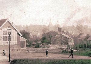 Brading, Bull Ring. C. 1903. Photograph.