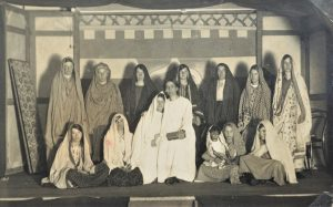 Brading. Girls' Friendly Society. Missionary Play. Photograph. C. 1920s.