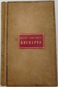 Brading Town Trust Receipts and Correspondence 1890-1904