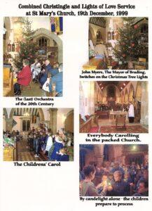 Christingle Service at St Mary's 1999