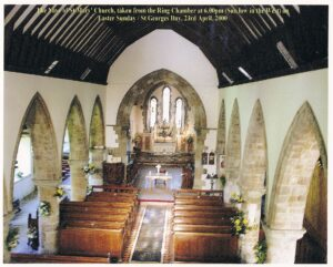 The nave of St Mary's Church April 2000