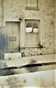 High Street .Brading. Lloyds Bank . Photograph dated 1920